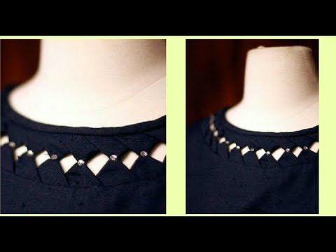 Trendy Kurti/Kurta Neckline Very Simple & Easy To Make