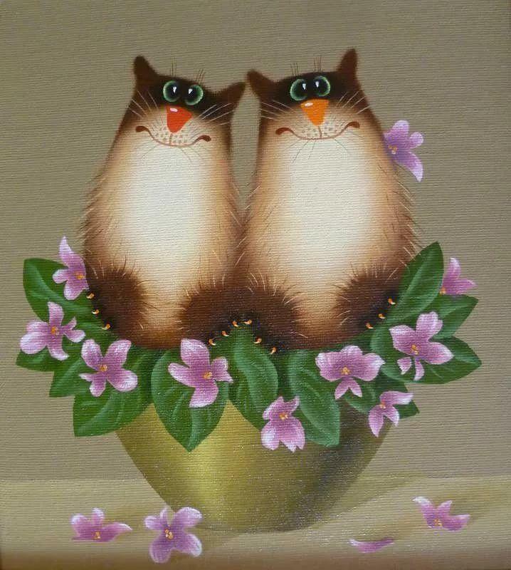 любит открытки с котами от александра показаться, что наша