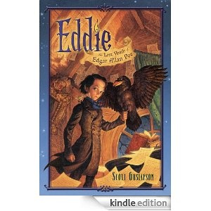Eddie--a book about the younger Edgar Allen Poe - some illustrations based on raven photos by me.