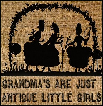 Grandmothers are the people who take delight in hearing babies breathing into the telephone.  or in the next room.