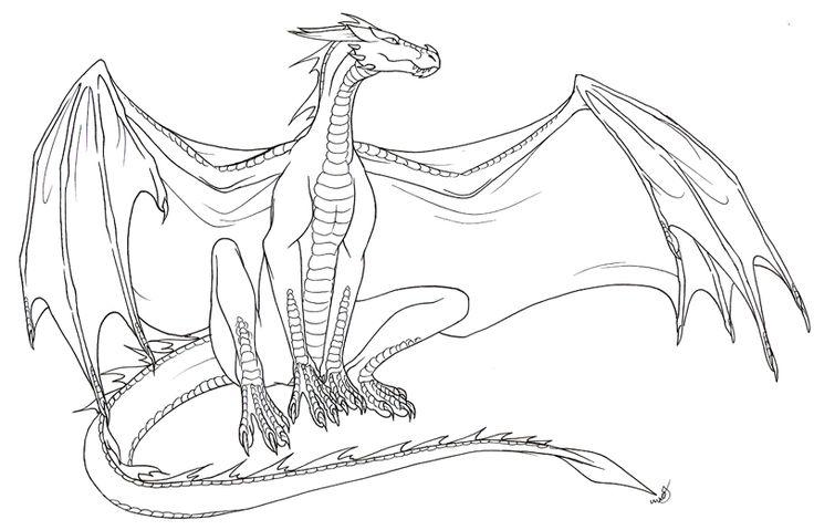 Drawn Chinese Dragon Zentangle