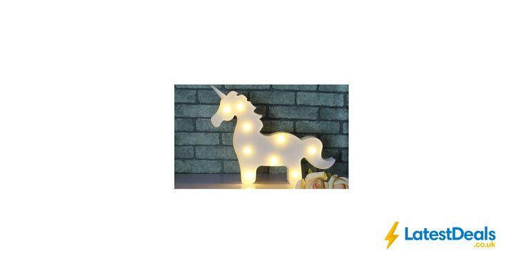 Unicorn Nine-Bulb Battery-Operated LED Light, £7 at Groupon