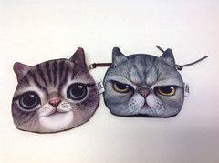 Cat Change Purse