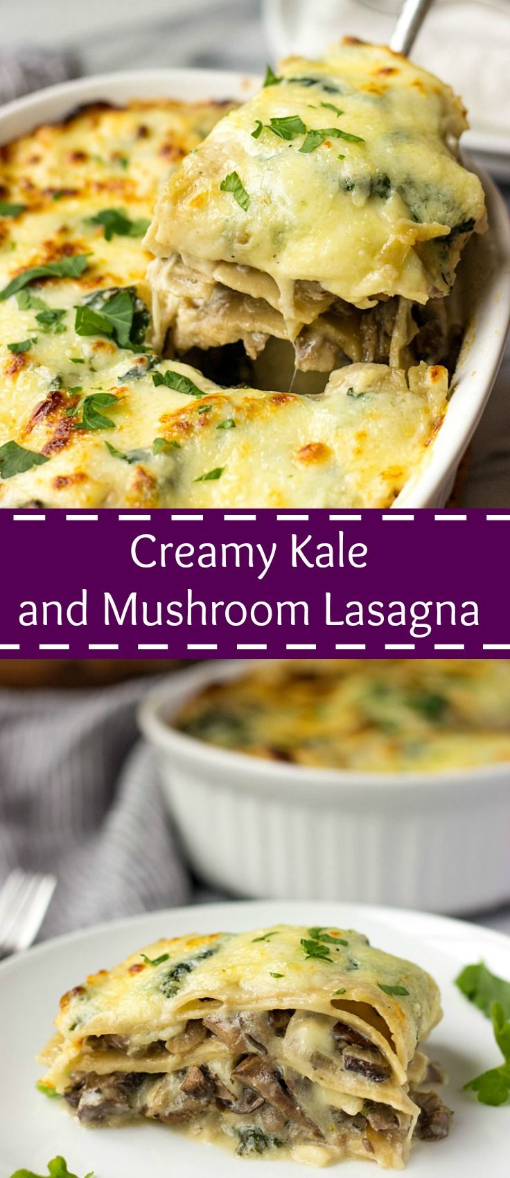 25+ best ideas about Mushroom lasagna on Pinterest ...