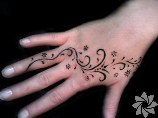Swirly Tattoo Designs | Floral silhouette, element for design, vector tattoo | S… – Nevriye