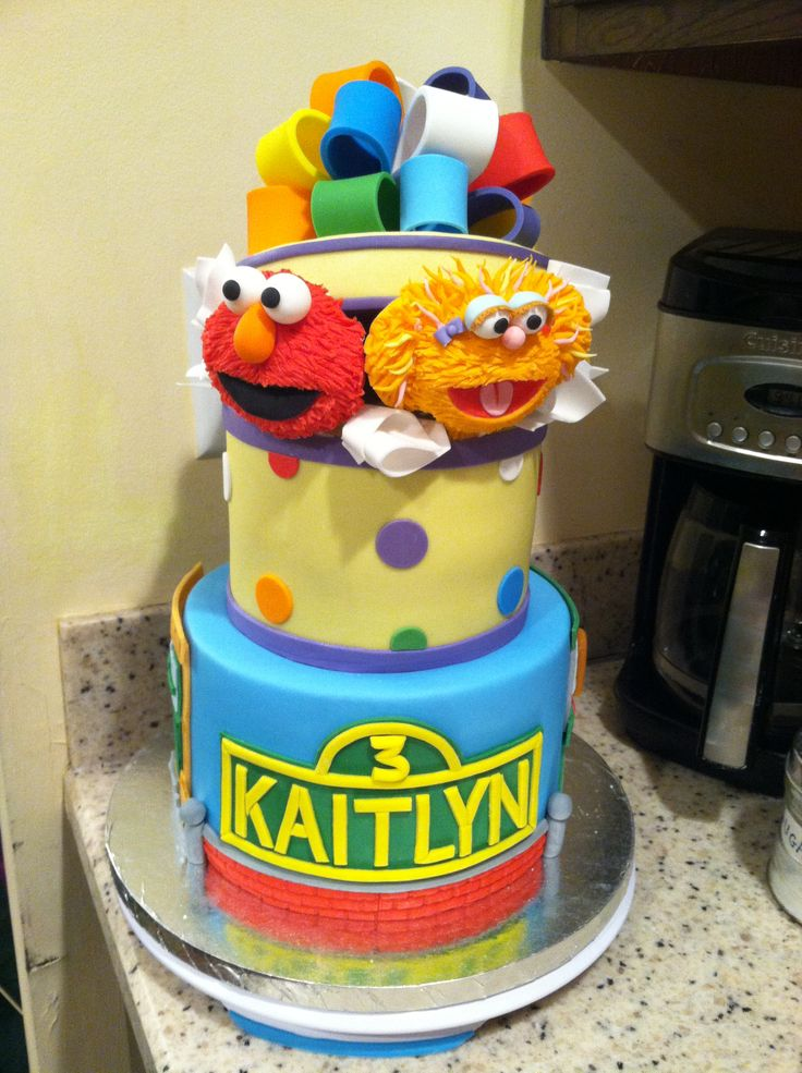 17 Best images about Sesame street cakes on Pinterest ...
