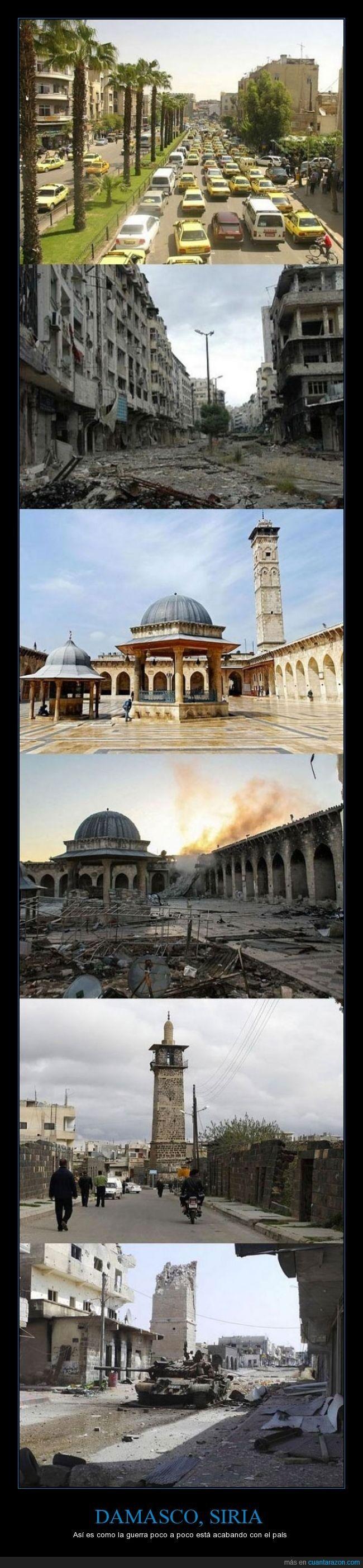 DAMASCO, SIRIA - Así es como la guerra poco a poco está acabando con el país