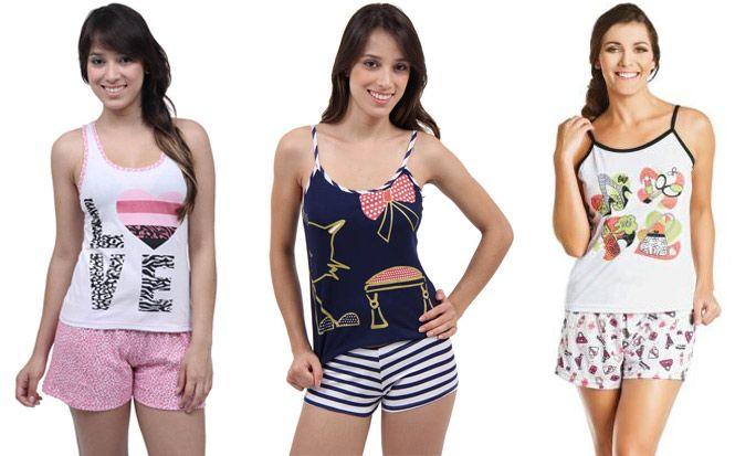 a24f88788d5460 modelos de pijamas 2014   Sleep wear   Pijama feminino, Pijamas de ...