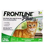 FRONTLINE® Plus Cat Flea & Tick Treatment