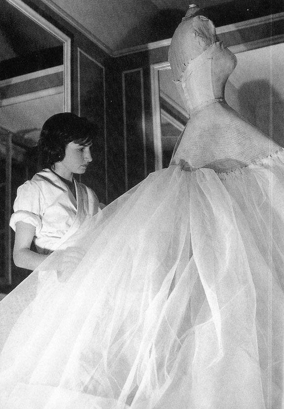 Christian Dior seamstress