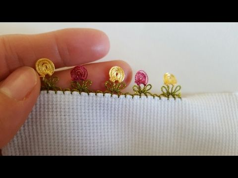 İğne Oyası#İğne Oyası Başlangıç#İğne Oyası Zurafa#Organze Kurdele oyaları&Forex flower,health flower - YouTube