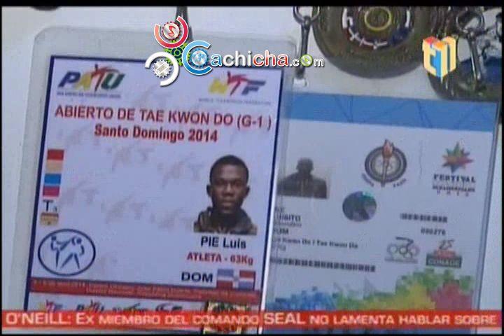 Luis Pie, El Atleta Dominicano De Ascendencia Haitiana Ganador De Oro En Taekwondo #Video