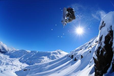 Yorgo en Vale Nevado, Chile.