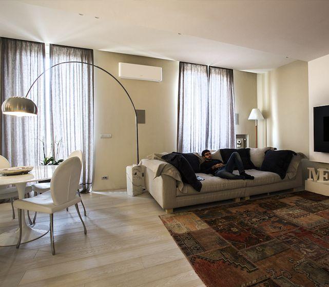 Casa Même, Interior Design di un appartamento a Torino by #IDEeA
