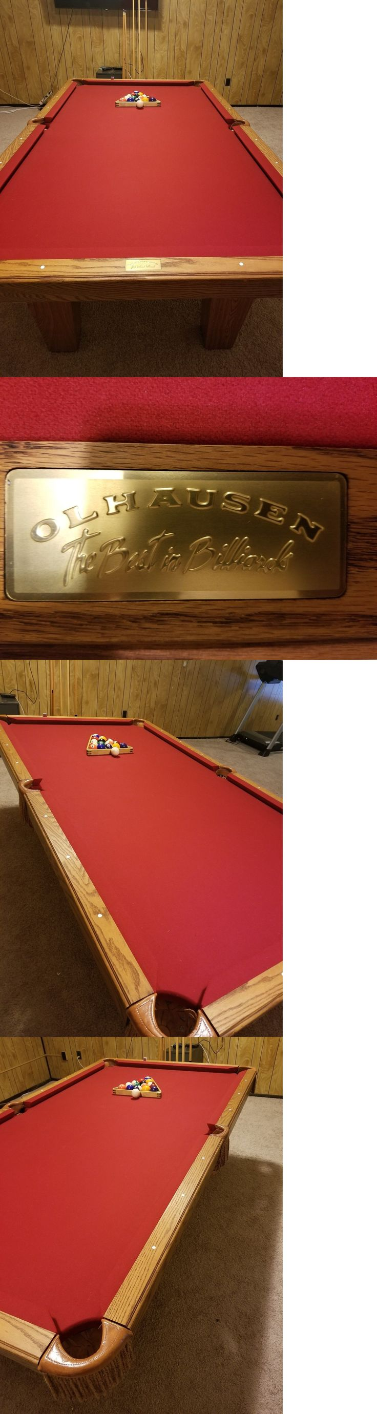 Tables 21213: Pool Table Olhausen 8Ft -> BUY IT NOW ONLY: $850 on eBay!