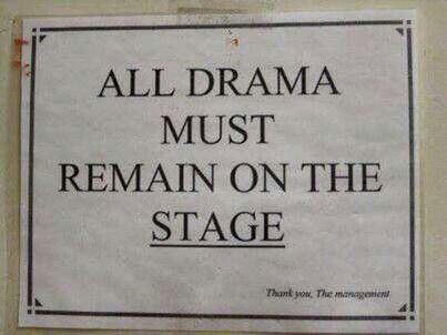 "Great for a theatre teacher in the making! I also would want on that says ""we do theatre, not drama."""