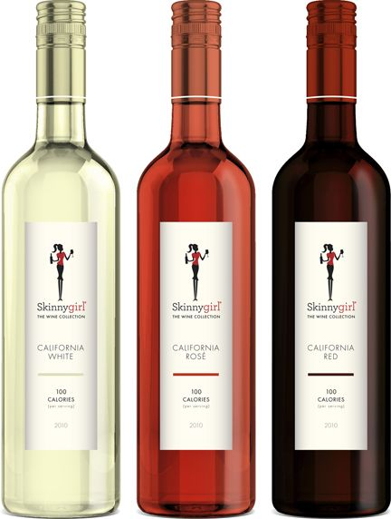 Skinnygirl Wines: white, rose, red. Think I just found my new best friend :)