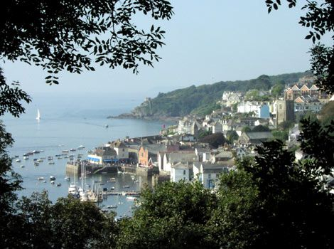 Fowey, Cornwall - Trevarre Hall is across the river from this ancient, charming town, and the Fowey estuary opens onto the English Channel.