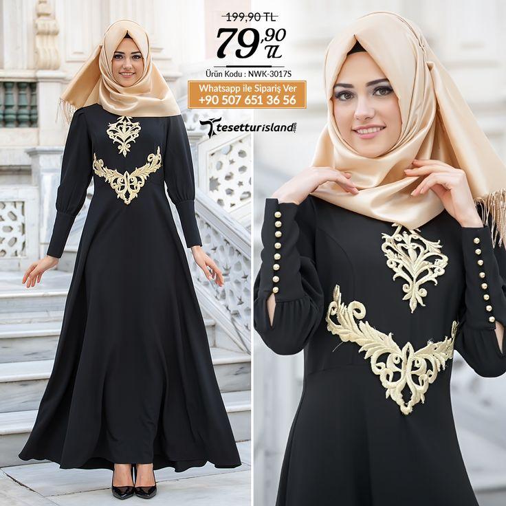 New Kenza - Siyah Abiye Elbise #tesettur #tesetturabiye #tesetturgiyim #tesetturelbise #tesetturabiyeelbise #kapalıgiyim #kapalıabiyemodelleri #şıktesetturabiyeelbise