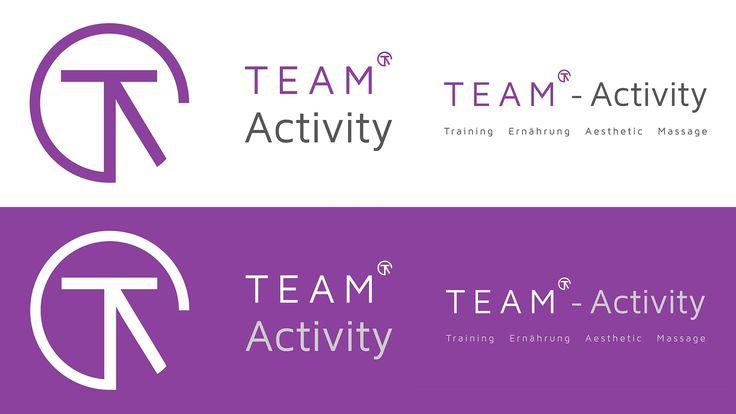 Das responsive Logo von TEAM-Activity fertiggestellt. Team steht für Training, Ernährung, Aesthetic und Massage. Eben das komplette Programm für ihre Gesundheit. --- #logo #responsive #logodesigns #design #teamactivity #team #training #ernährung #aesthetic #massage