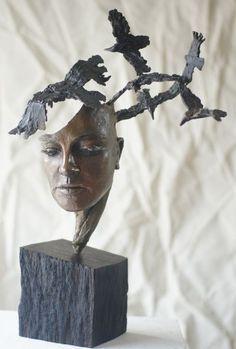 Image result for bronze tree sculpture