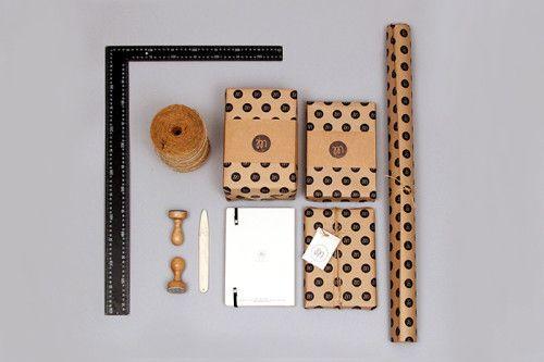Paper Love packaging by Magdalena Tekieli