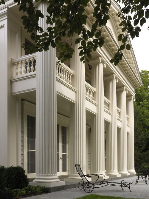 Greek Revival: a style almost exclusive to the south. Many of these gorgeous structures were destroyed during the Civil War. Fortunately, several managed to survive. Some were abandoned due to financial losses, but saved and restored over the years.