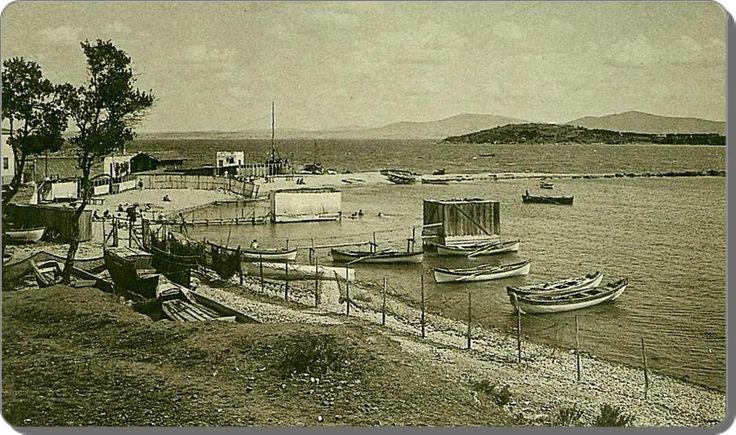 Burgazada, plaj - 1930 lar