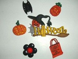 bling DIY phone deco halloween set | chriszcoolstuff - Craft Supplies on ArtFire