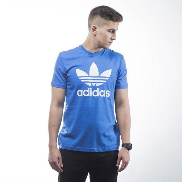 Koszulka t-shirt Adidas Originals Orig Trefoil T blue (AJ8829)