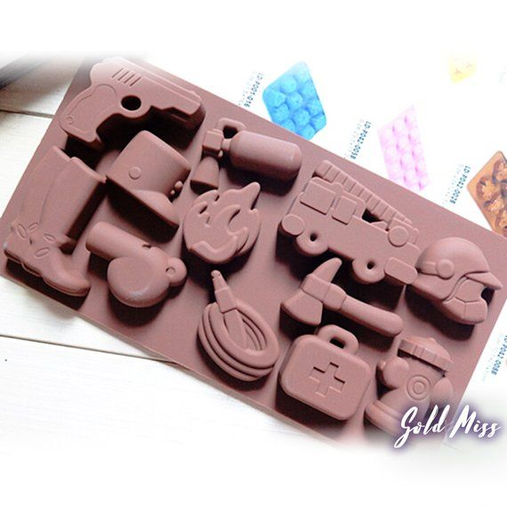 Superman Batman Ice Cube Silicone Mould Chocolate Pudding Jelly Bake Mold