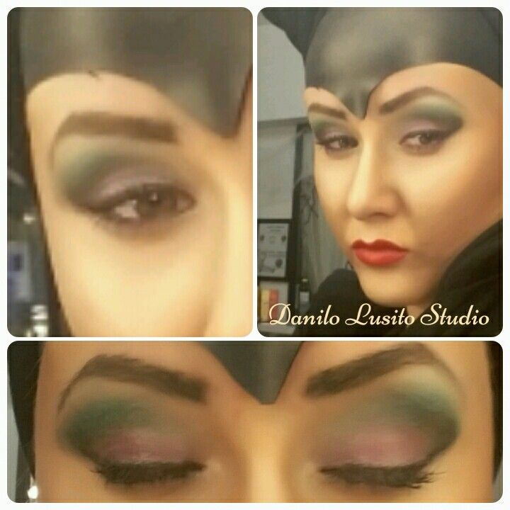 #partymakeup #machiajtematic #machiajdehalloween #maleficent #danilolusitostudio #halloween