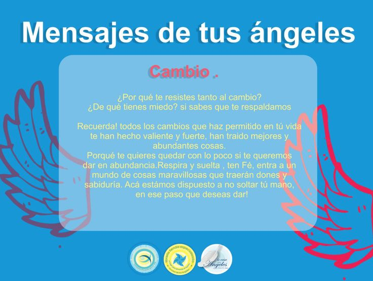 Mensaje de Ángeles!