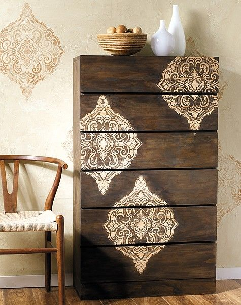 195 Best Images About Chalk Paint On Pinterest Folk Art Furniture And Stencils