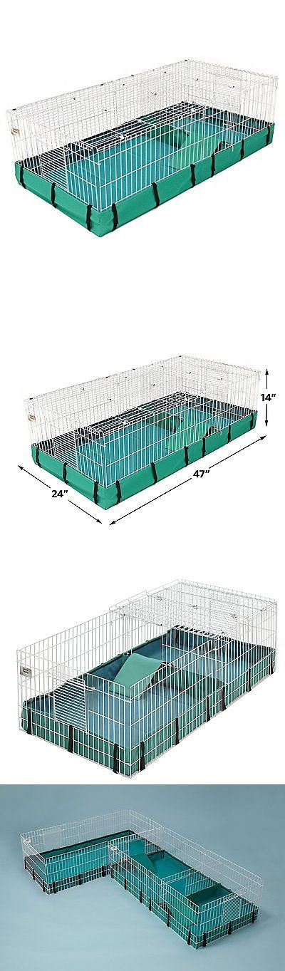 Cages and Enclosure 63108: Large Pet Cage Ferret Rabbit Guinea Pig Chinchilla Small Animal House Habitat BUY IT NOW ONLY: $56.69