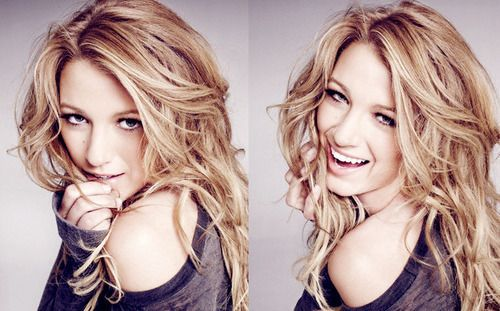 my hair idol...plus shes super gorgeous. plus, shes serena van der woodsen. blake is my favorite.