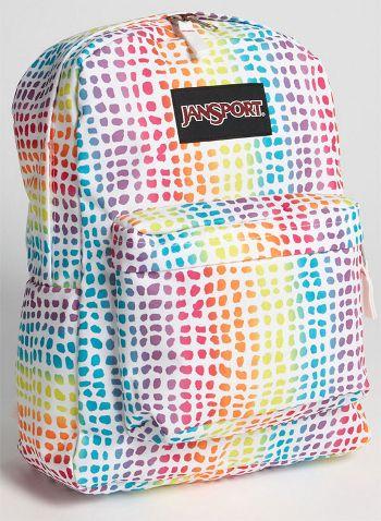 jansport backpacks for girls | rainbow jansport backpack courtesy of jansport