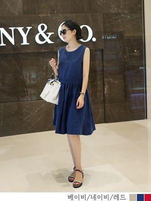 korean fashion online store [COCOBLACK] Valerie LinenOPC / Size : FREE / Price : 78.96 USD #dress #onepiece #korea #fashion #fashionshop #missy #missylook #linendress #linen