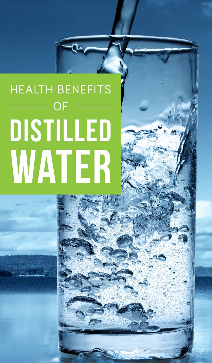 Benefits of Distilled Water