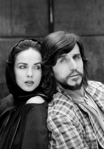 Czelaw Niemen and his wife Malgorzata