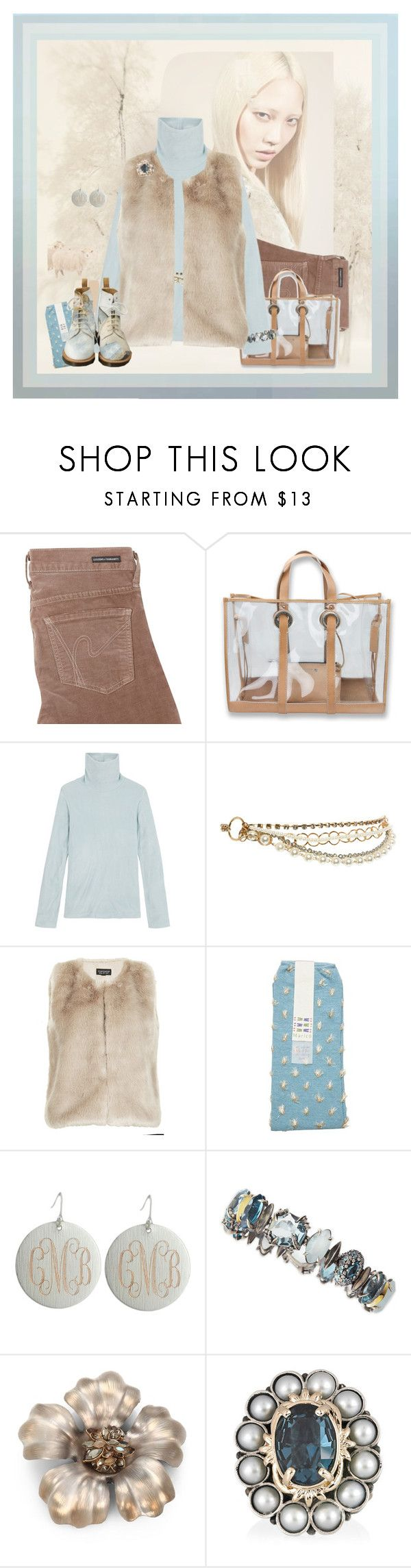 """Vested Interest"" by halebugg ❤ liked on Polyvore featuring Citizens of Humanity, Sperry Top-Sider, Uniqlo, New Look, Topshop, Maria La Rosa, Alexis Bittar and Mawi"