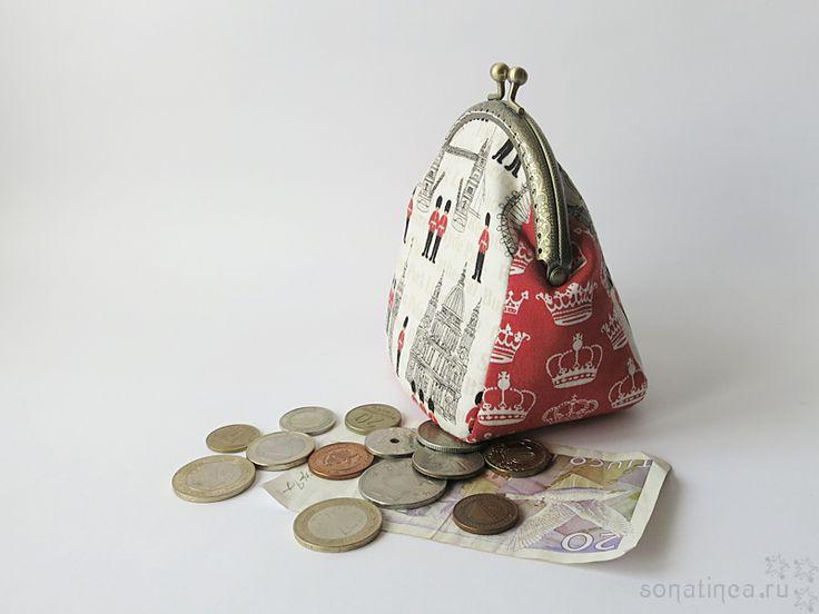 Лондонский кошелек / London framed purse