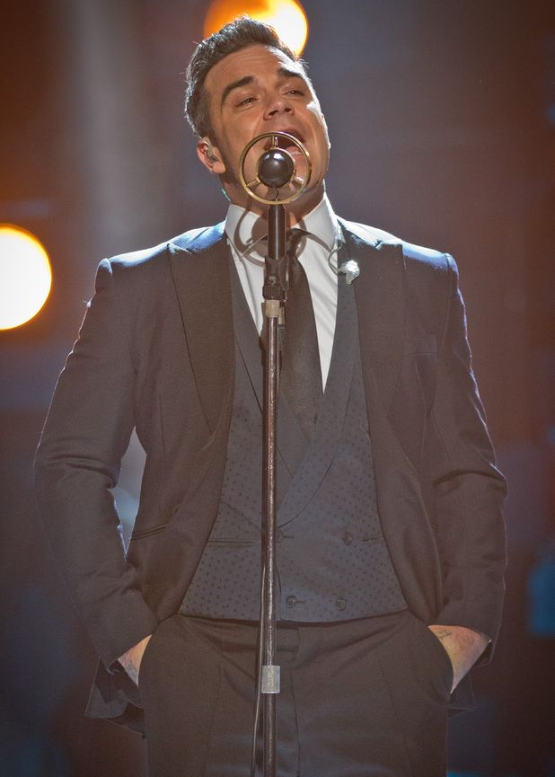 My man Robbie Williams @ Strictly Come Dancing 2012