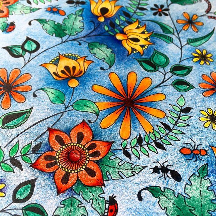#arttherapy #adultcoloringbook #adultcoloring #secretgarden #colouringbook #раскраска #раскраска_антистресс #таинственный_сад #чарівнийсад #розмальовка #розмальовкаантистрес #johannabasford
