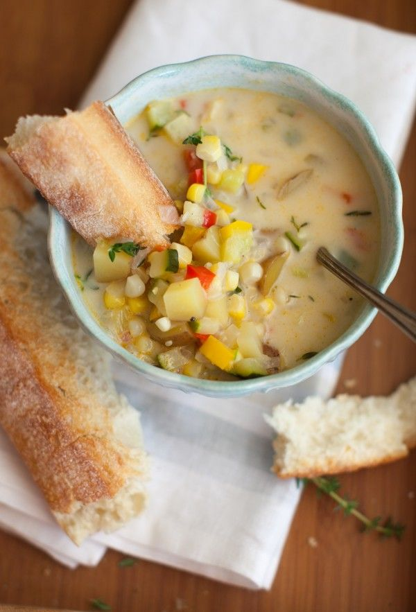 Harvest Corn Chowder recipe on www.simplebites.net