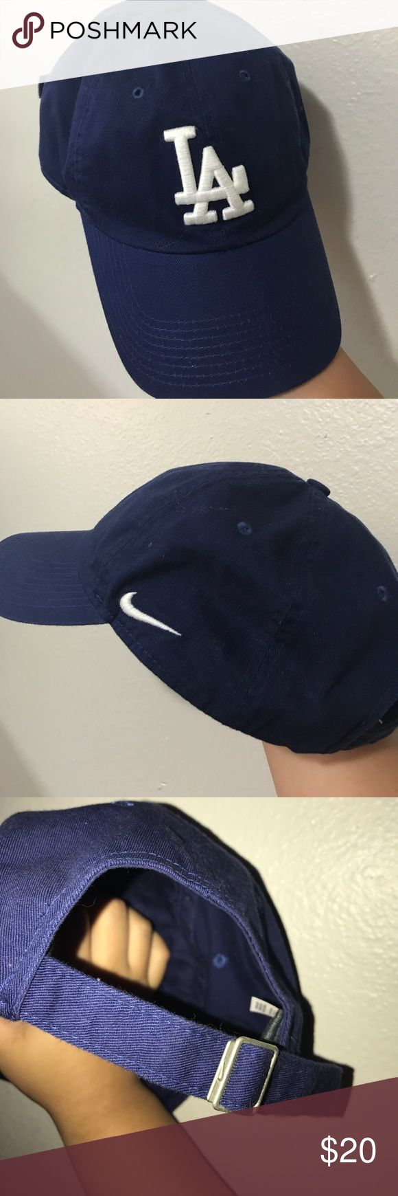 LA hat Nike Blue and white hat Nike Accessories Hats