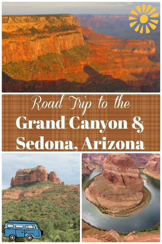 You'll see some of the most amazing landscapes ever on this road trip to the Grand Canyon and Sedona, Arizona! #GrandCanyon #Sedona #epicroadtrip