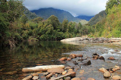Río Chaicas, Parque Nacional Alerce Andino, Puerto Montt