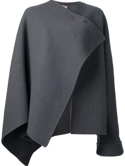 BOTTEGA VENETA - asymmetric cape 6