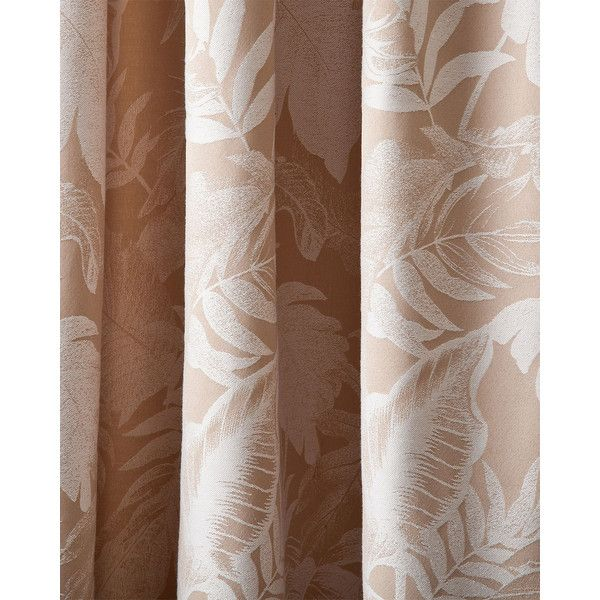 "Tommy Bahama Each 42""W x 84""L Mangrove Curtain (8.690 RUB) ❤ liked on Polyvore featuring home, home decor, window treatments, curtains, ivory, tommy bahama home decor, ivory curtains, cream colored curtains, cotton curtains and off white curtains"